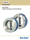 AIV Master Valve Distributor for Crane - Duo Chek II - Crane Duo-Chek II Catalogs - High Performance Check Valves