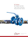 AIV Master Valve Distributor for KF Valves - KF Valves Catalogs - Series FA / FAE Two-Piece Trunnion Ball Mounted Valve