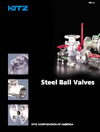 AIV Master Valve Distributor for Kitz USA - Ball Valves - Floating Steel Ball Valves
