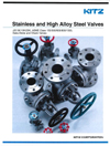 AIV Master Valve Distributor for Kitz USA - Gate, Globe & Check Valves - Stainless and High Alloy Steel Valves